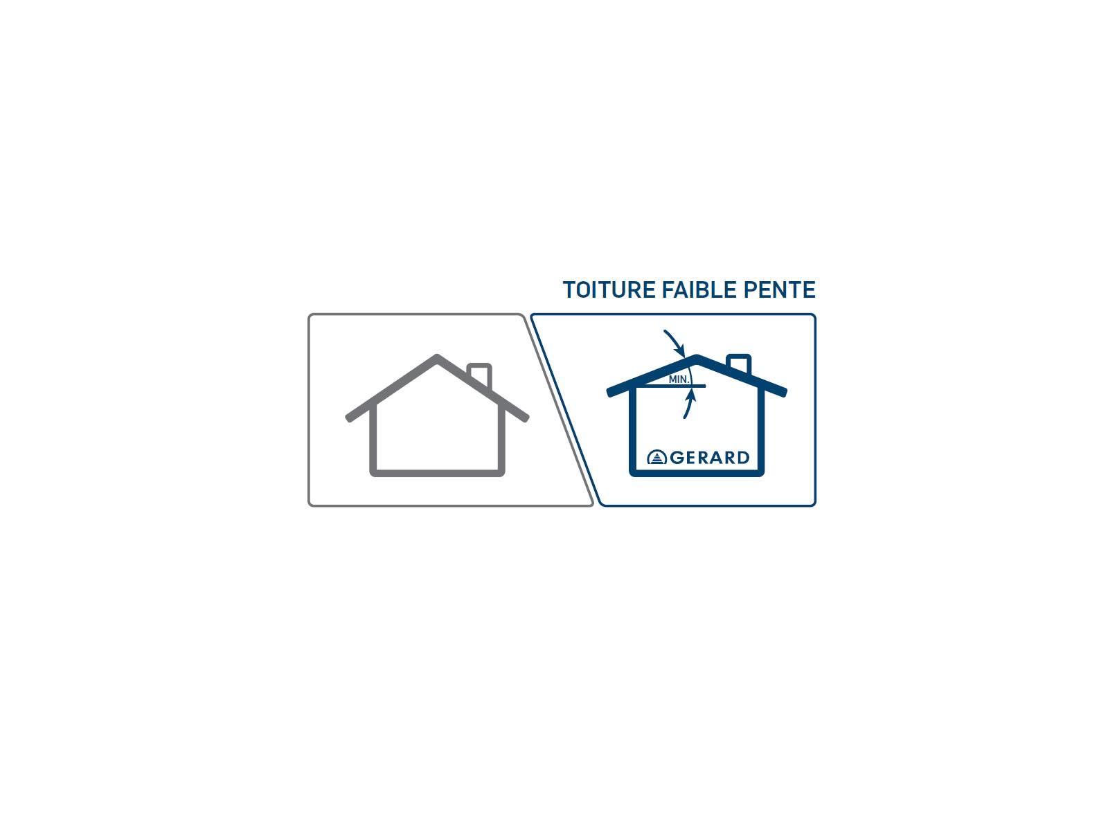 une tuile faible pente fabrication livraison de tuiles lyon mat riaux r novation toiture. Black Bedroom Furniture Sets. Home Design Ideas