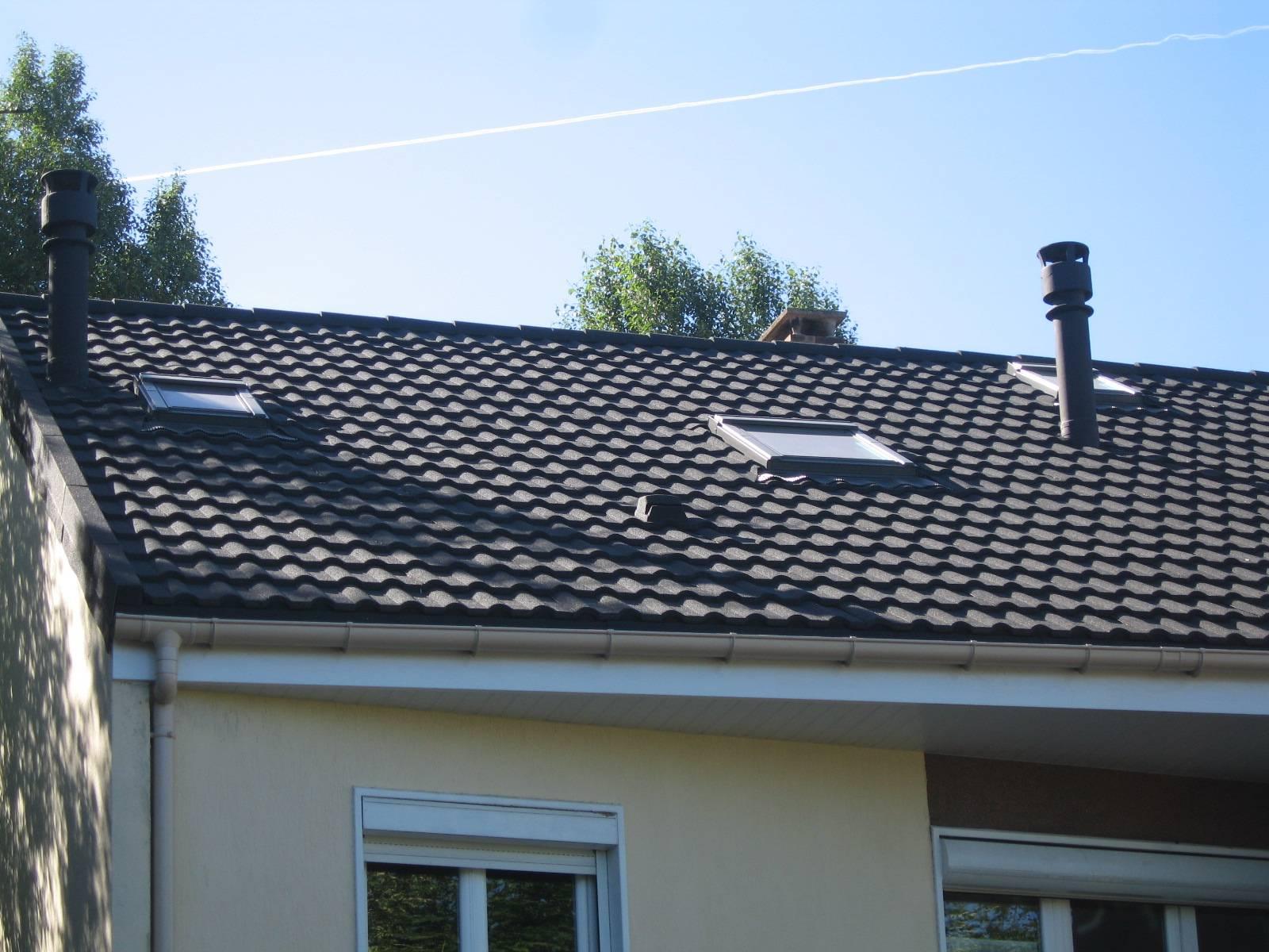 Tuiles pour toiture l g re fabrication livraison de for Tuiles legeres pour toiture