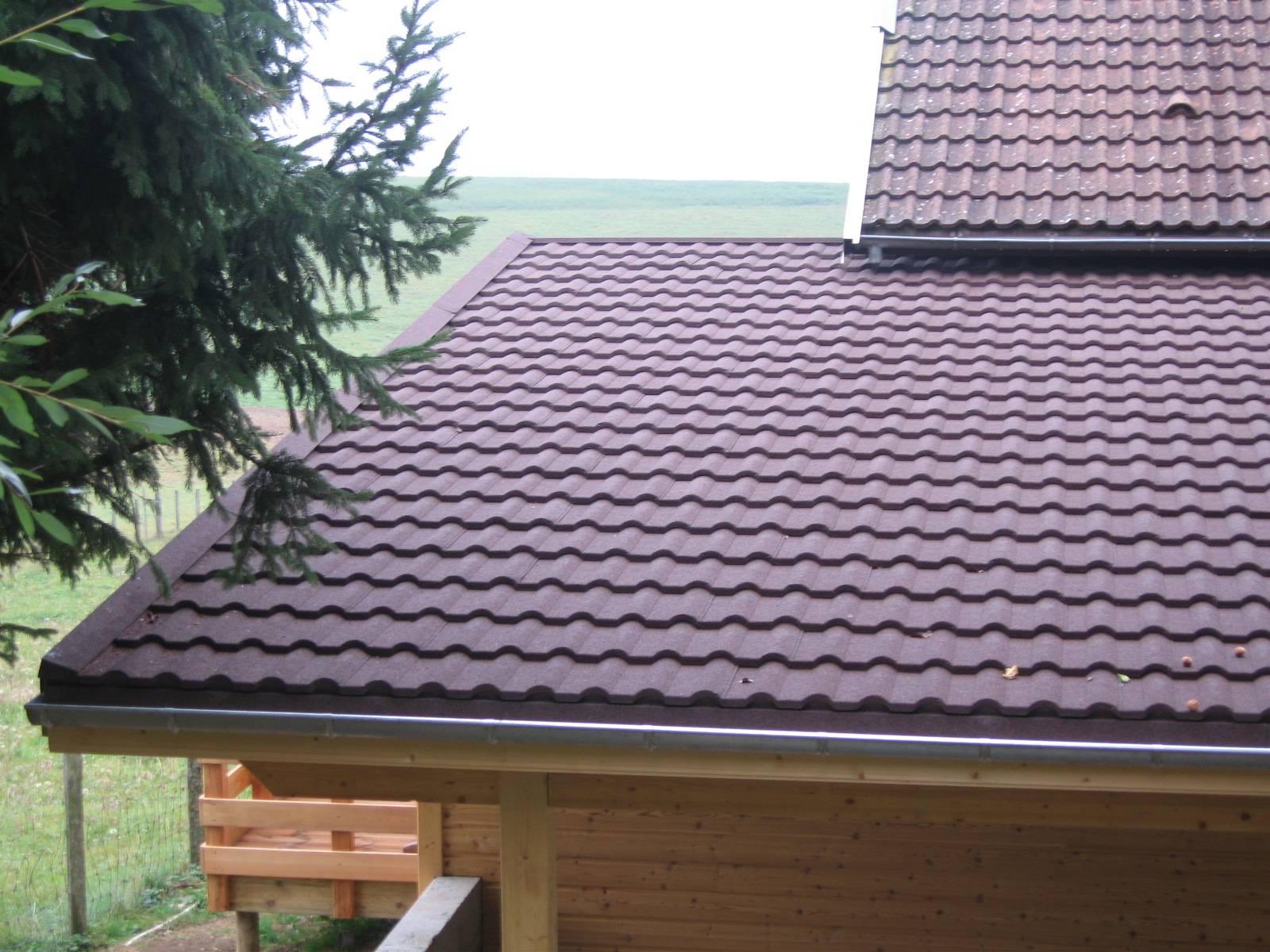 tuiles pour toiture faible pente fabrication livraison